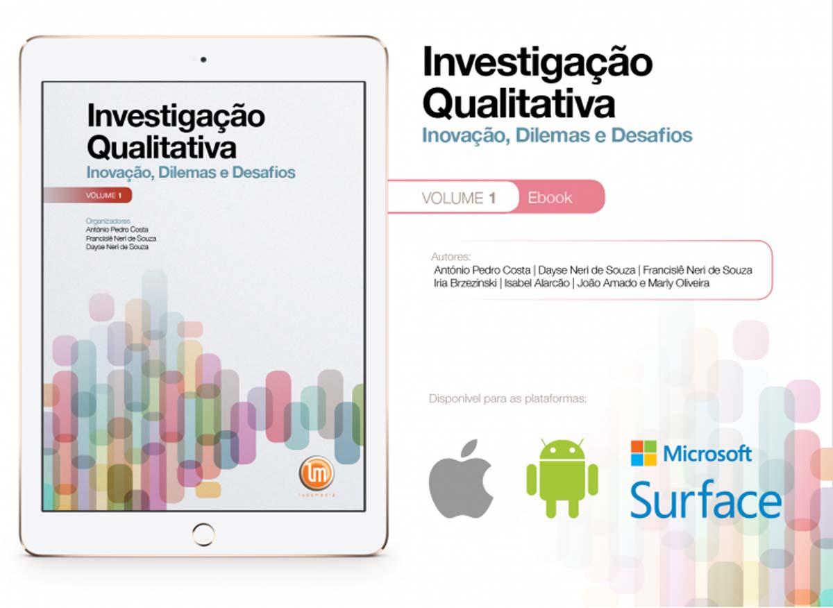 e-book - Investigação Qualitativa (VOLUME 1)