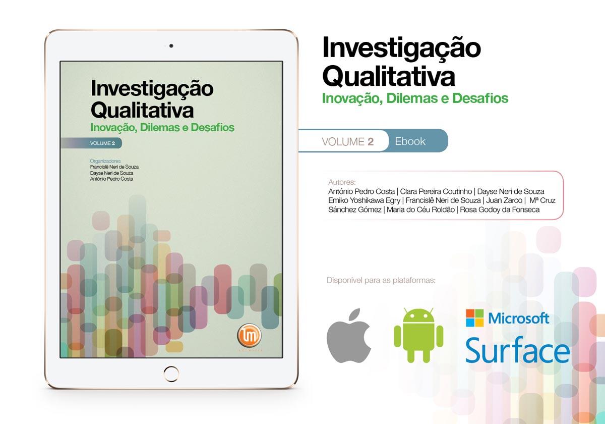 e-book - Investigação Qualitativa (VOLUME 2)